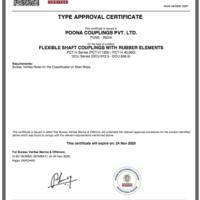 Type Approval from Bureau Veritas (BV)